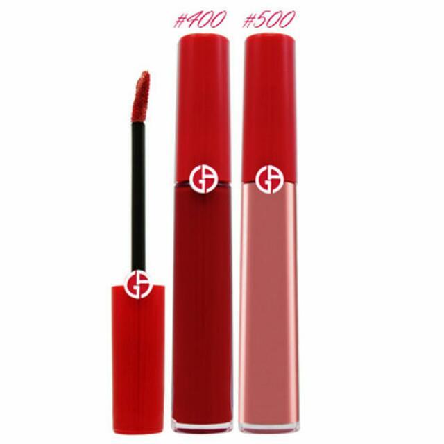 (全新)Giorgio Armani奢華絲絨訂製唇萃超值組