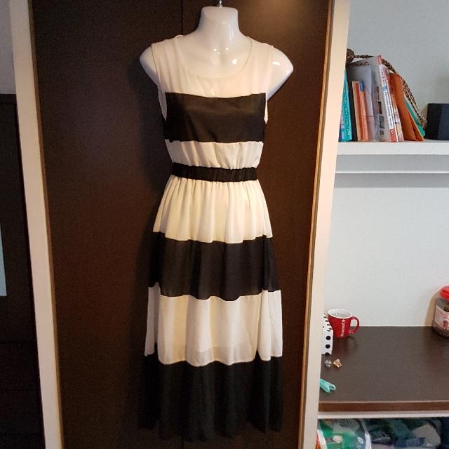 全新長版雪紡洋裝#我的女裝可超取#好物任你換