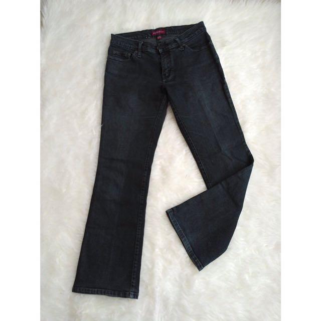 [ AKO Denim ] Cutbray Black Jeans