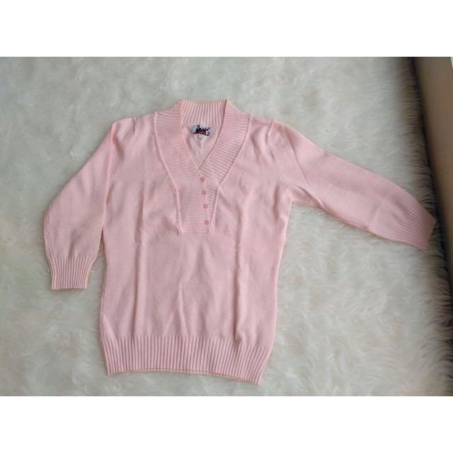 [ No Brand ] Pink Cardi