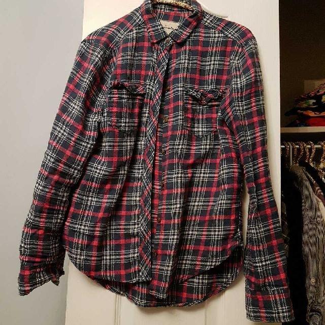 Abercrombie Plaid Shirt (S)