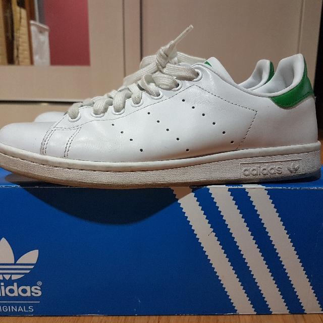 Adidas Stan Smith , Green Logo
