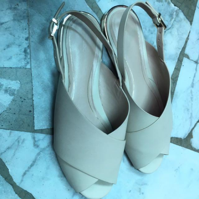 ALDO米色氣質涼鞋