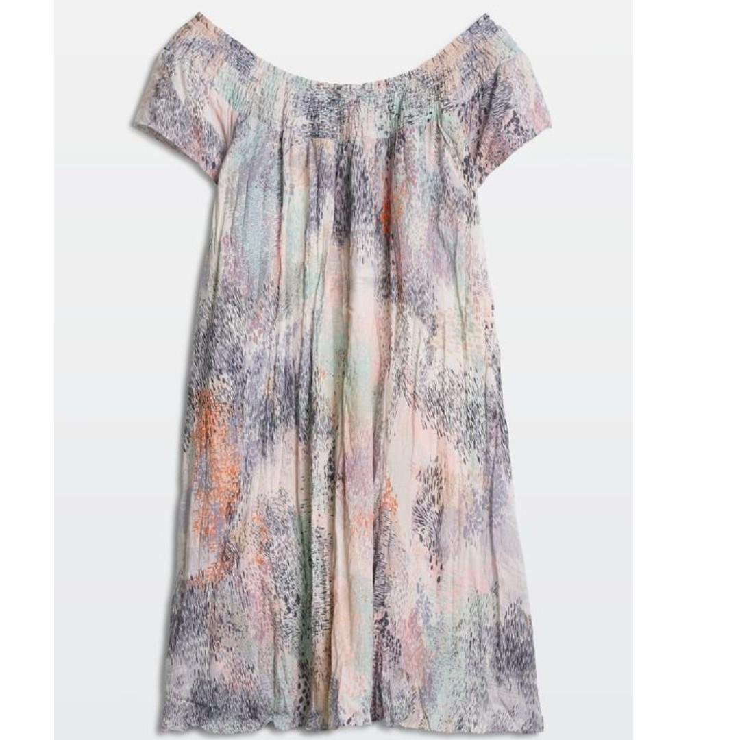 Aritzia Wilfred Off the Shoulder Horatio Dress