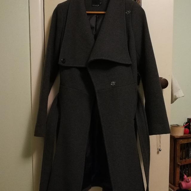 Asos funnel Neck Coat