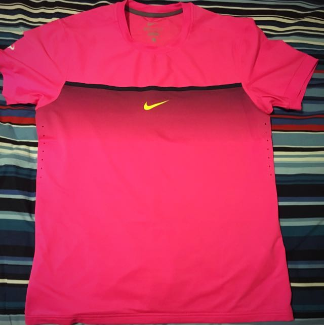 Assortment of men's tennis shirts