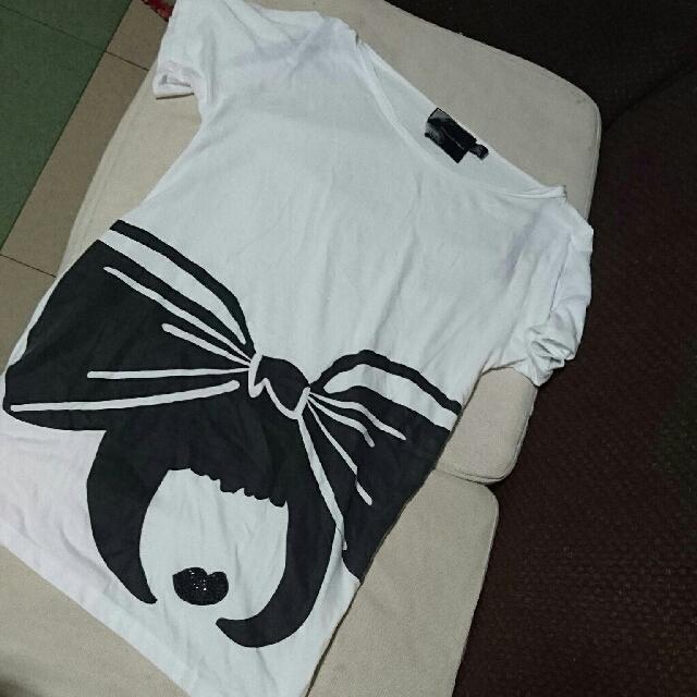 Auth Twelve By Twelve Oversized Shirt/blouse