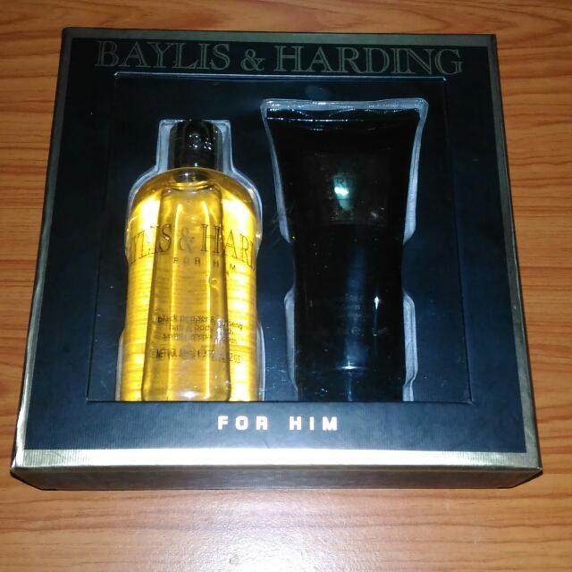 Authentic Baylis & Harding Black Pepper & Ginseng Gift Set For Him