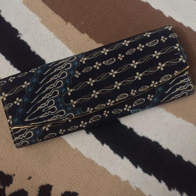 Batik Clutch Bag