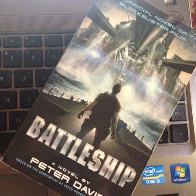 Battleship Movie Novel By Peter David