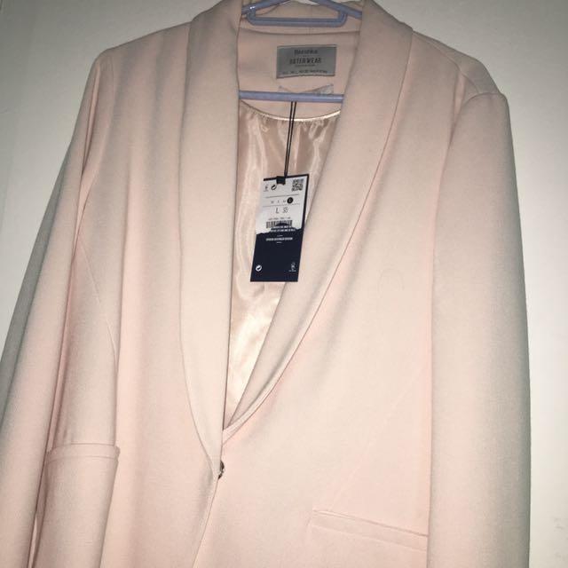 Bershka Pastel Colored Blazer