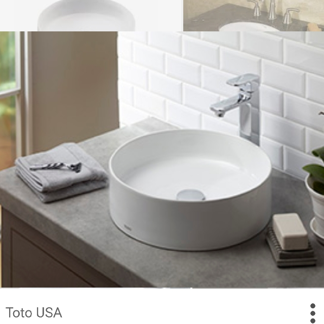 BN TOTO LT573-01Round Basin on Carousell