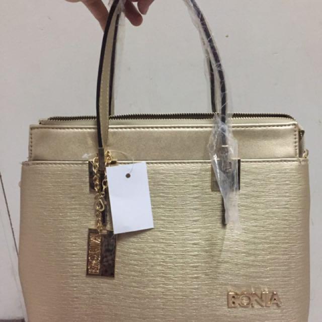 Bonia Bag & Free Pouch