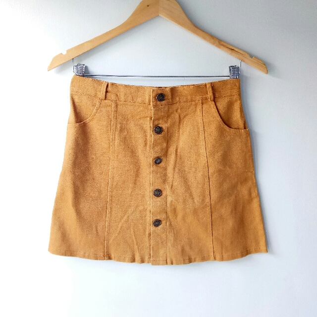 REPRICED! Buttondown Skirt (from 250 to 200)