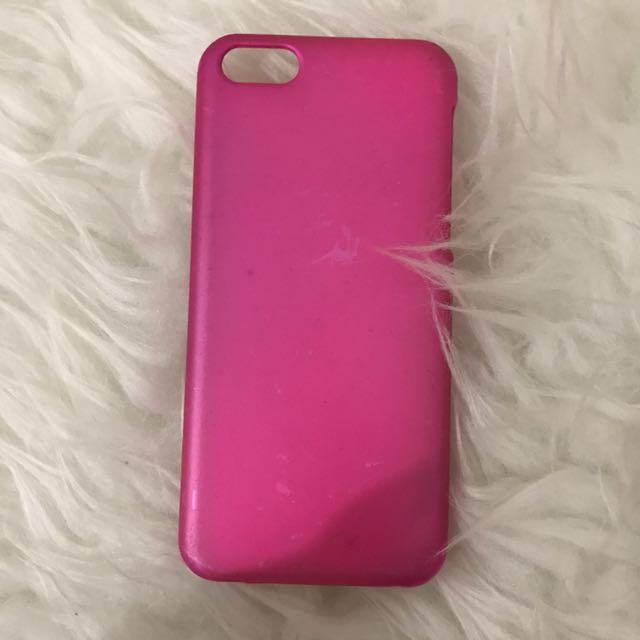 case iphone 5c pink neon