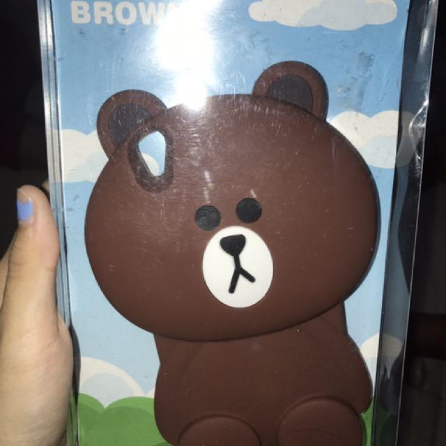 Case Oppo F1 Plus brown