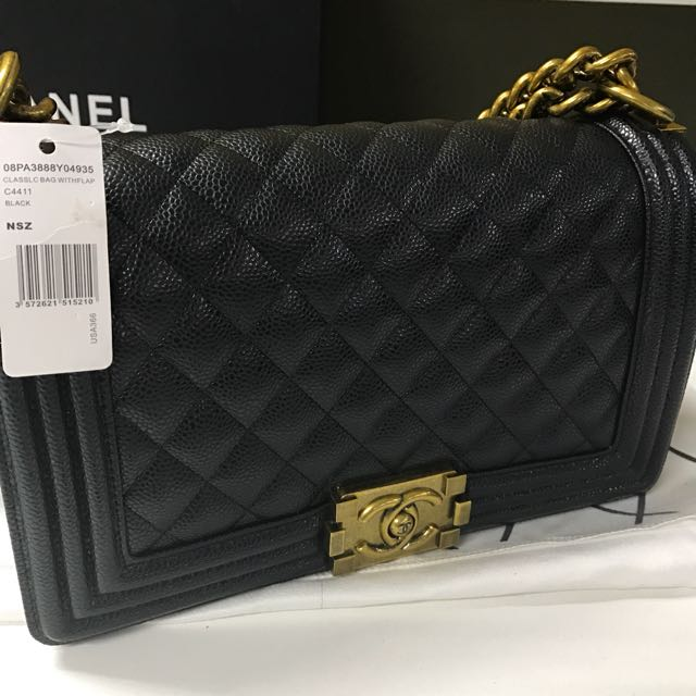 Chanel Boy Bag Caviar SALE & REPRICED