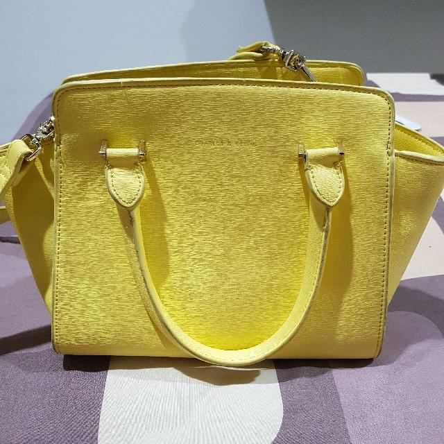 Charles & Keith Bag Yellow