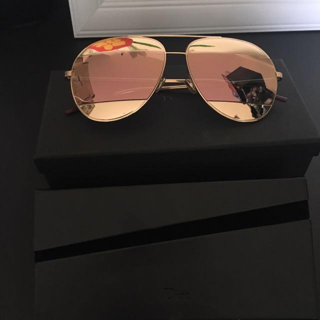 Christian Dior Split Sunglass