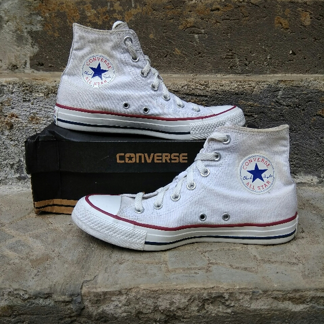 Converse CT Hi Optical White