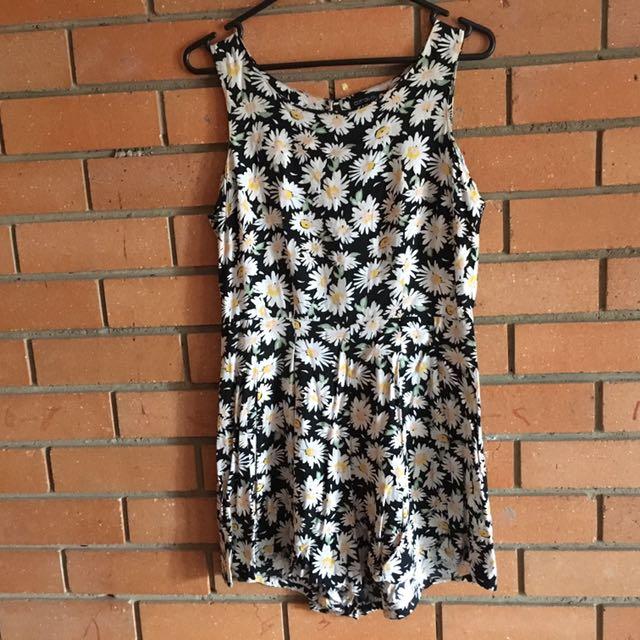 Cotton On Size M Floral Playsuit Romper