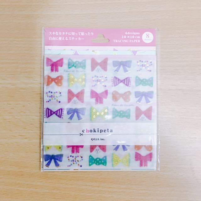 日本購入DIY手工貼紙