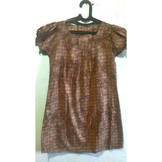 Dress Batik Balon