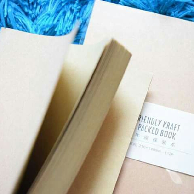 Eco-friendly Kraft Nude Packed Notebook