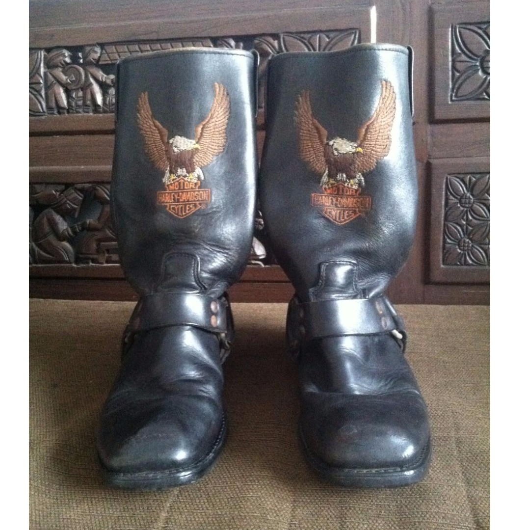 For Sale Chelsea Boots By Harley Davidson Mens Fashion Safety Boot Bahan Kulit Asli Home Made Indonesia Footwear On Carousell