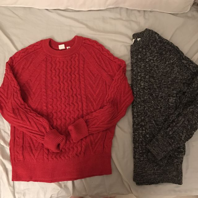 GAP Cable Knit Sweaters