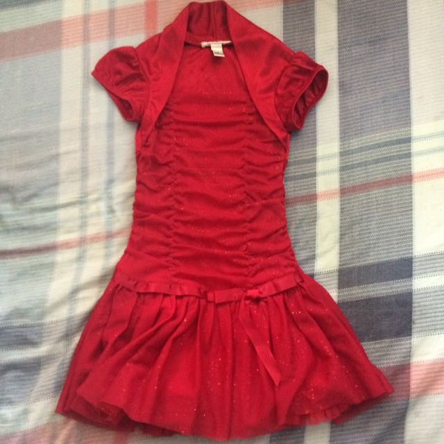 Girl's Red Dress Size 5
