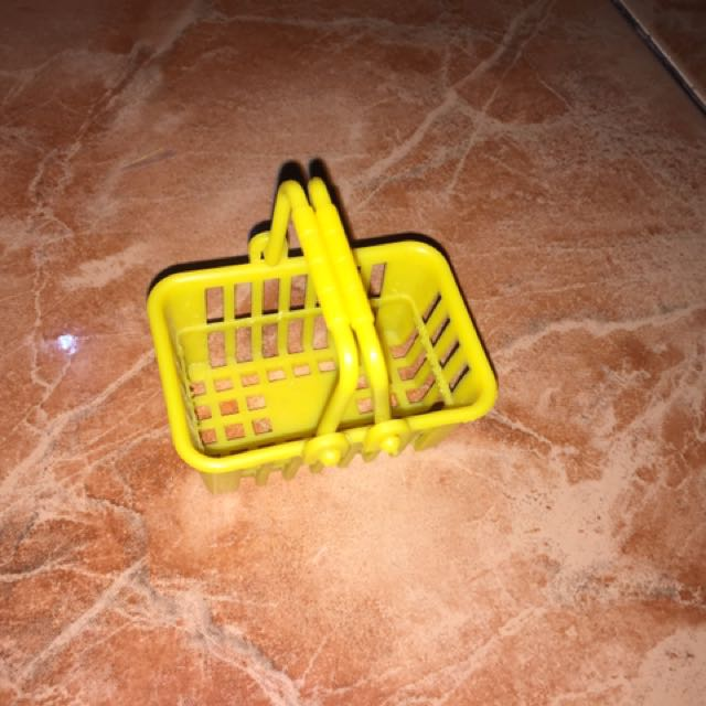 Grocery Basket for Barbie