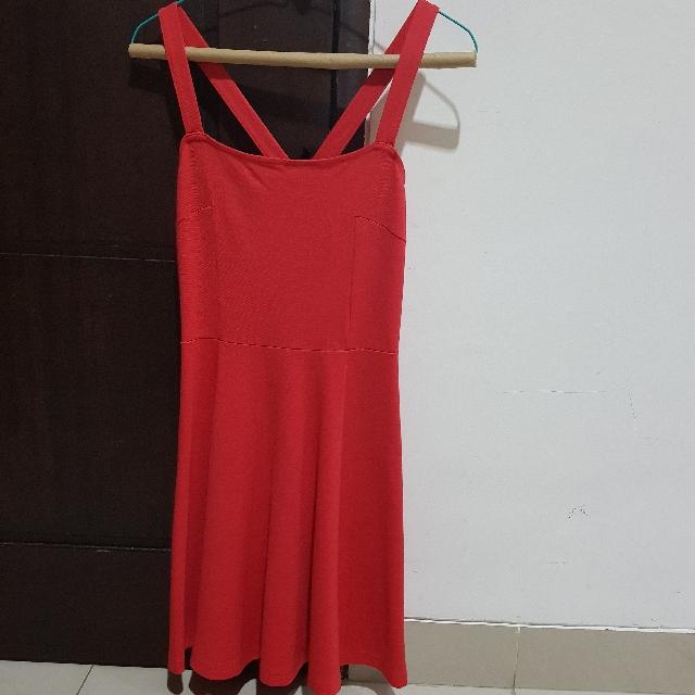 H&M Dress Red