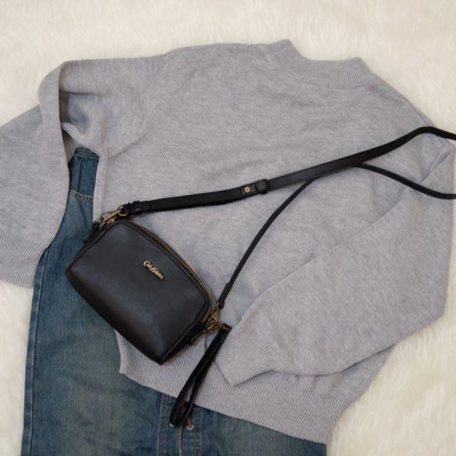 H&M Grey Knit Sweater