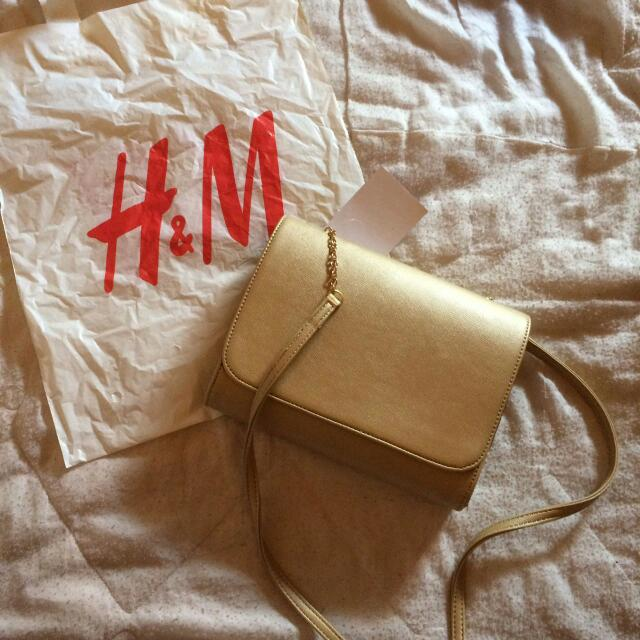 H&m Mini Clutch Gold