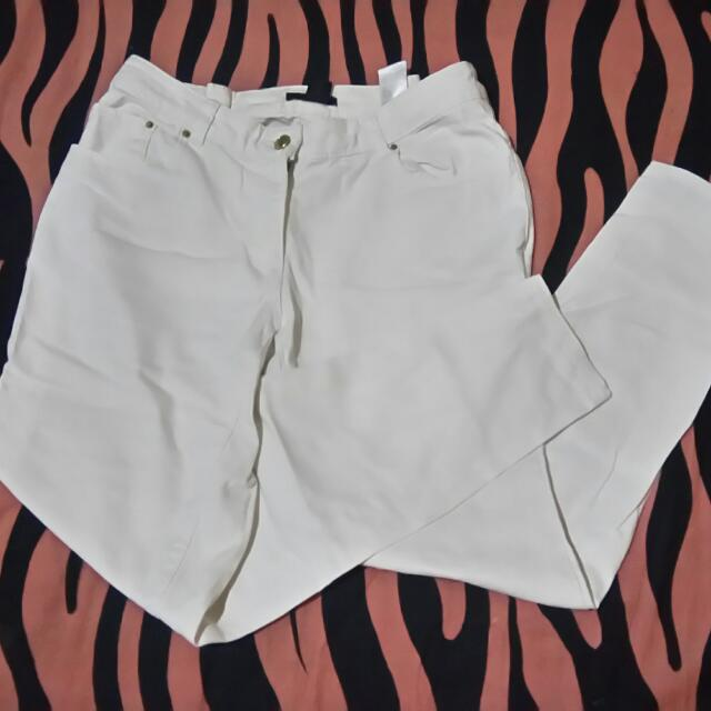 Hnm White Jeans