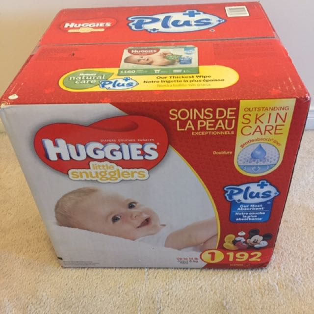 Huggies Little Snugglers - Size 1
