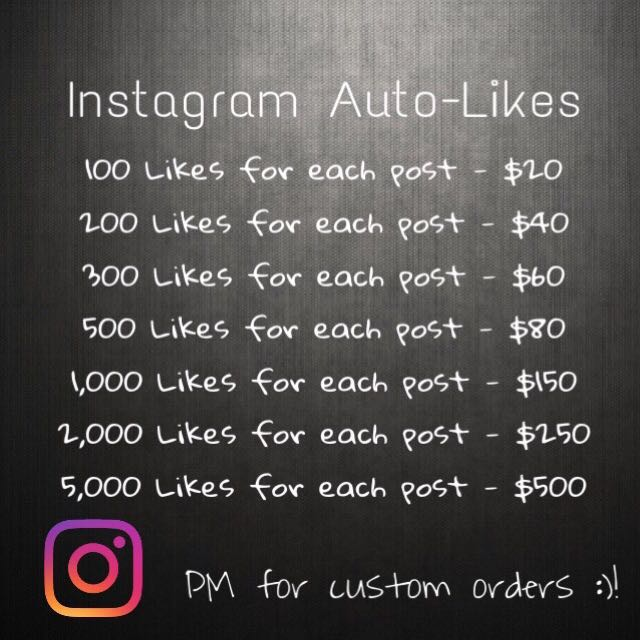 Instagram Automatic Likes for NEW Posts!
