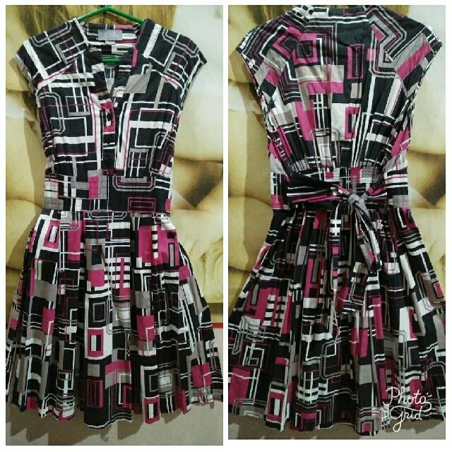 Juana Geometric Dress