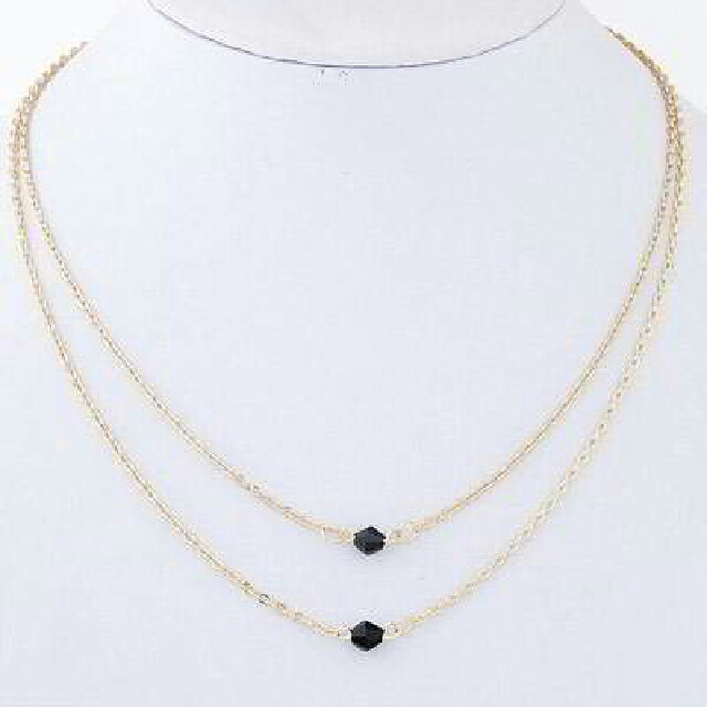 Kalung Beads Double Gold