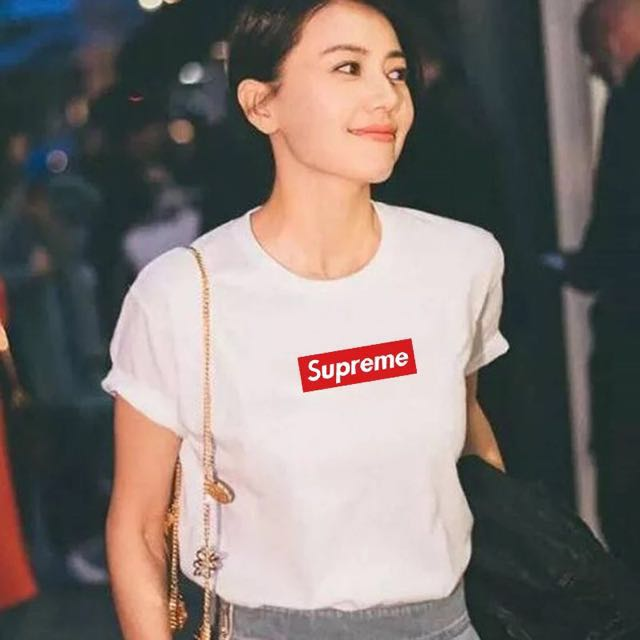 0582466eccd9 (L size in stock)Supreme T shirt, Women's Fashion, Clothes, Tops on  Carousell