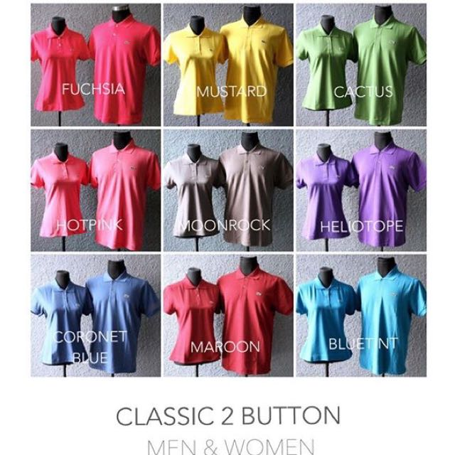 Lacoste Classic 2 Buttons