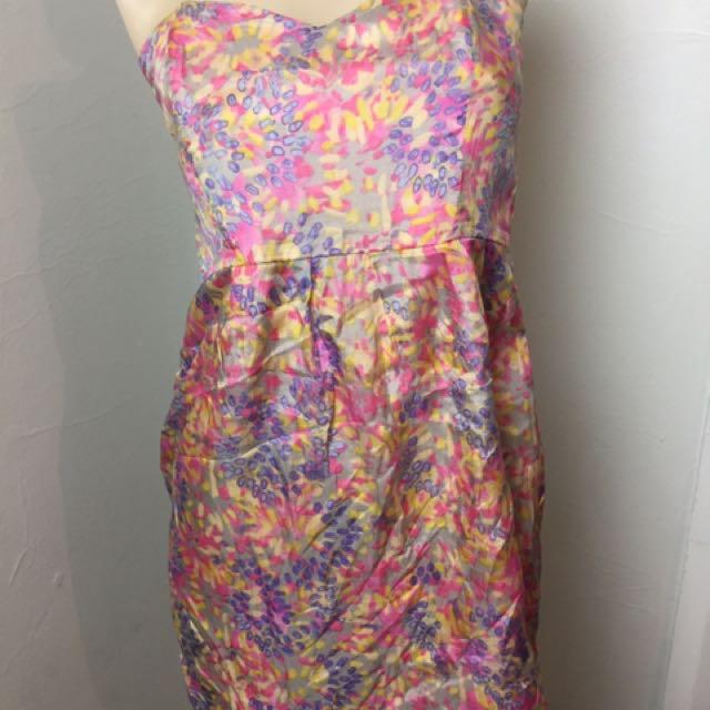 Ladakh Colourful Boobtube Dress Size 10