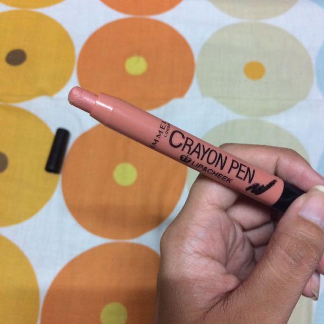 Lip & cheeck crayon pen