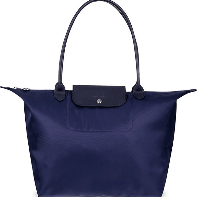 LONGCHAMP NEO SHOPPER NAVY