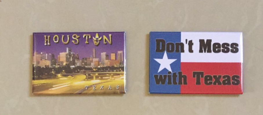 magnet kulkas houston - texas