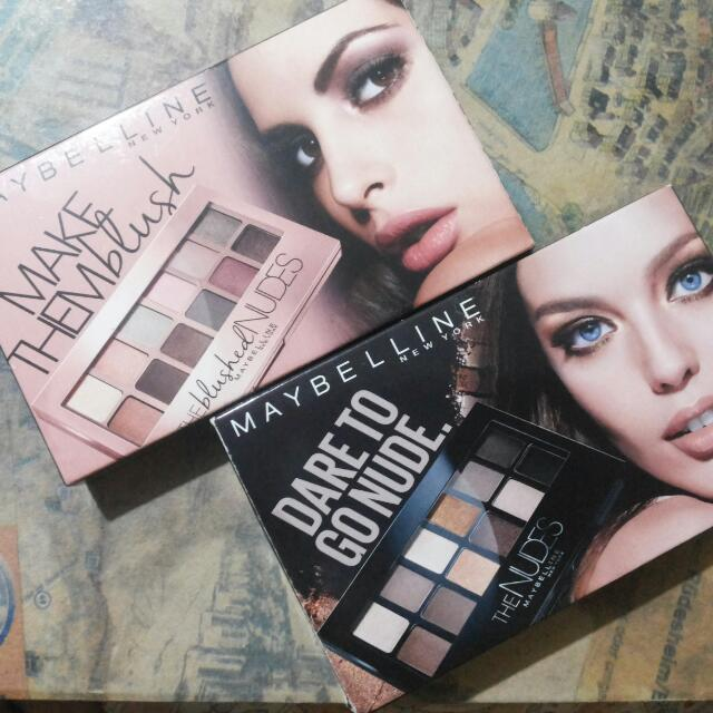 Maybelline Palettes Repriced!!!