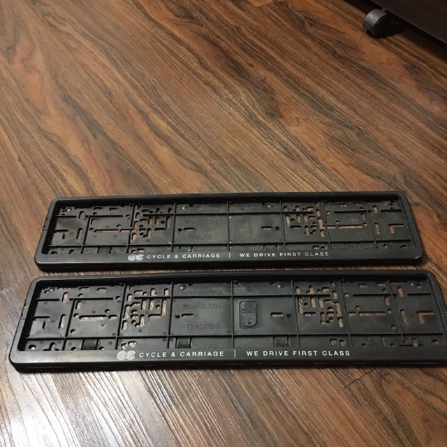 photo photo photo & Mercedes Mitsubishi KIA number plate holder Car Accessories on ...