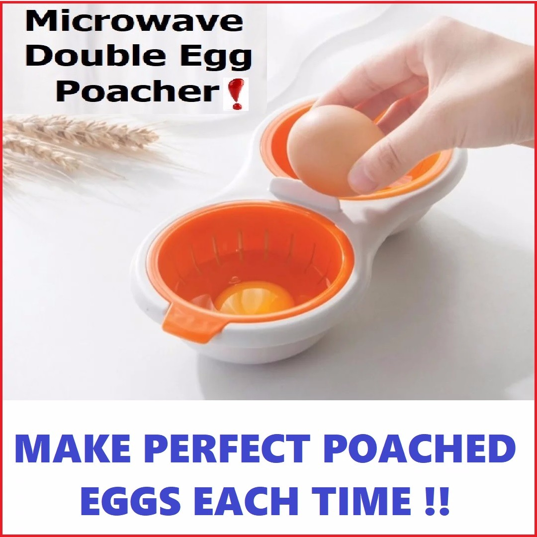 Microwave Poached Egg Maker Mould Cooker Lunch Box Breakfast Home Liances On Carou