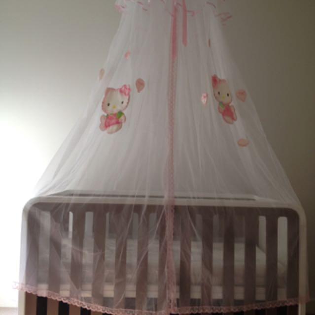Mosquito Net - Hello Kitty
